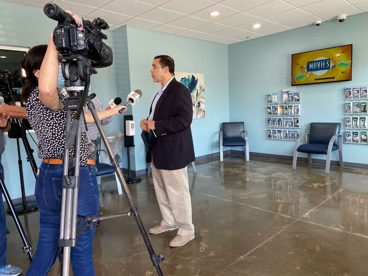 Rep. Henry Cuellar announced that $6 million in federal funds was heading to SCAN on Friday for mental health.