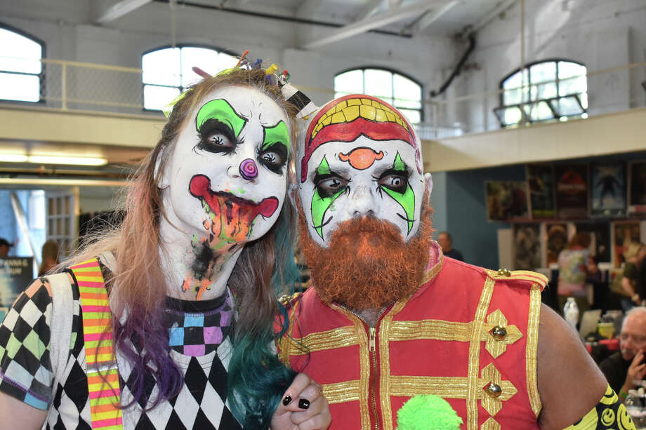 The First ParaConn Paranormal convention was hosted at the Ansonia Armory, in Ansonia, CT., on Saturday, July 24 and Sunday, July 25, 2021. The Event Featured paranormal investigators, seminars, panels, vendors, food trucks and exhibits. Were you SEEN? Photo: Lara Green- Kazlauskas/ Hearst Media
