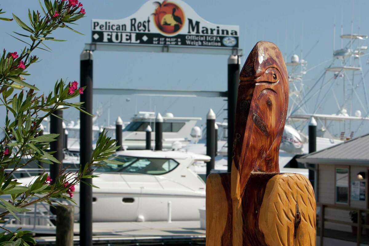 File photo from 2012 shows the Pelican Rest Marina, located on Offatts Bayou in Galveston.