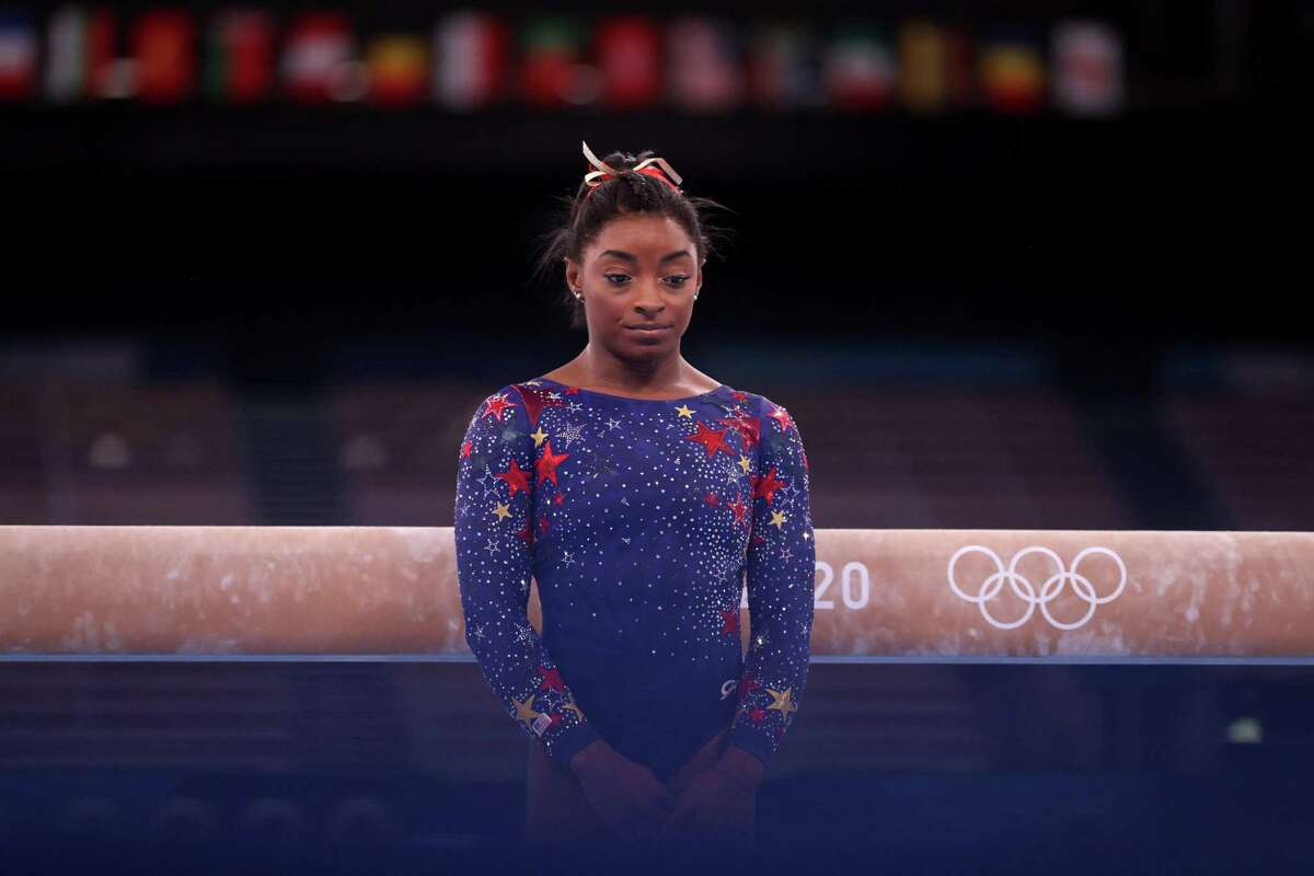 Simone Biles and the U.S. were a bit off during women's gymnastics qualifications.