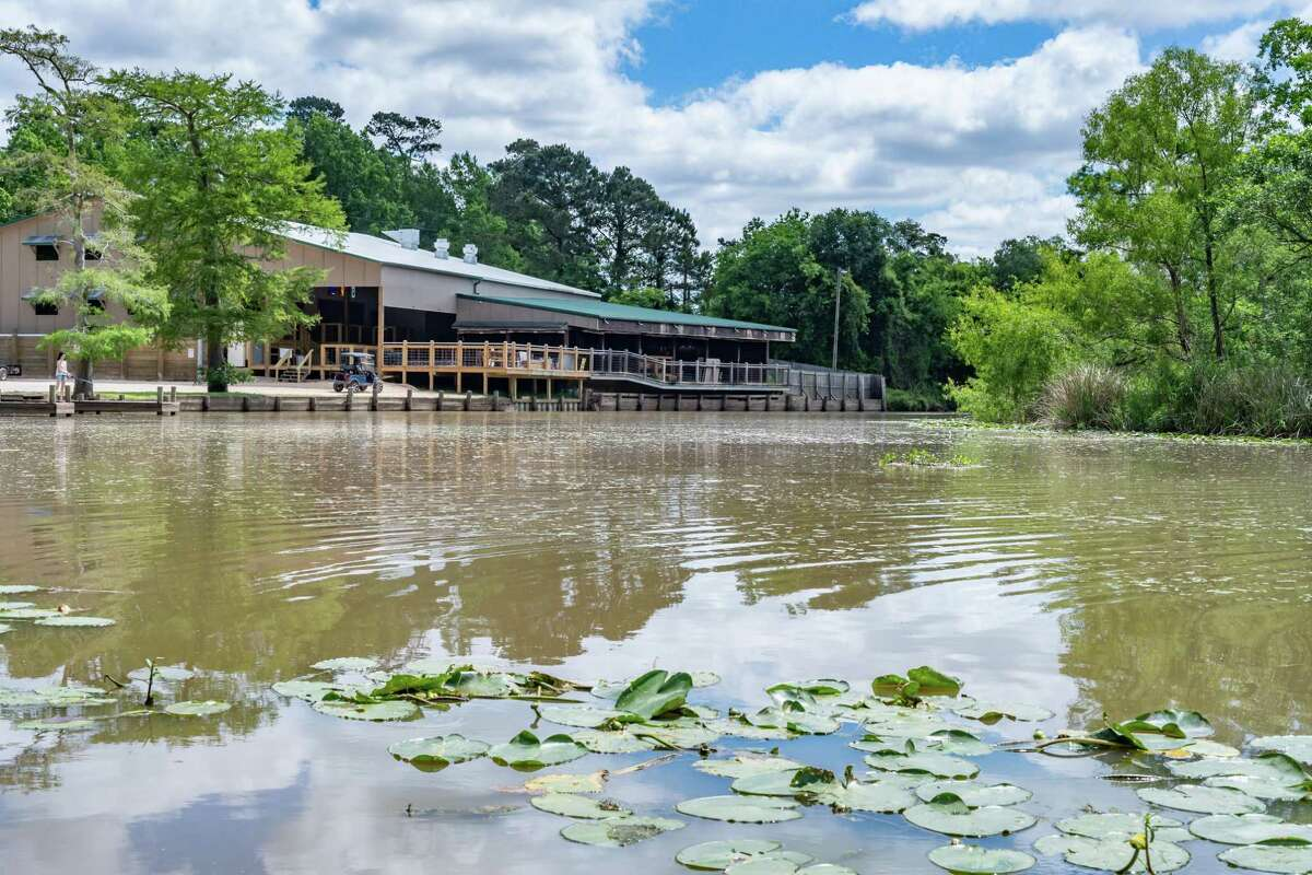 Pine Tree Lodge, a popular roadhouse on Taylor Bayou was nearly destroyed in by Tropical Storm Harvey in 2017. It has been closed since then, until it reopened during the pandemic shutdown. Owner Mike Miller expects to open the dining room soon. Photo made on May 2, 2020. Fran Ruchalski/The Enterprise