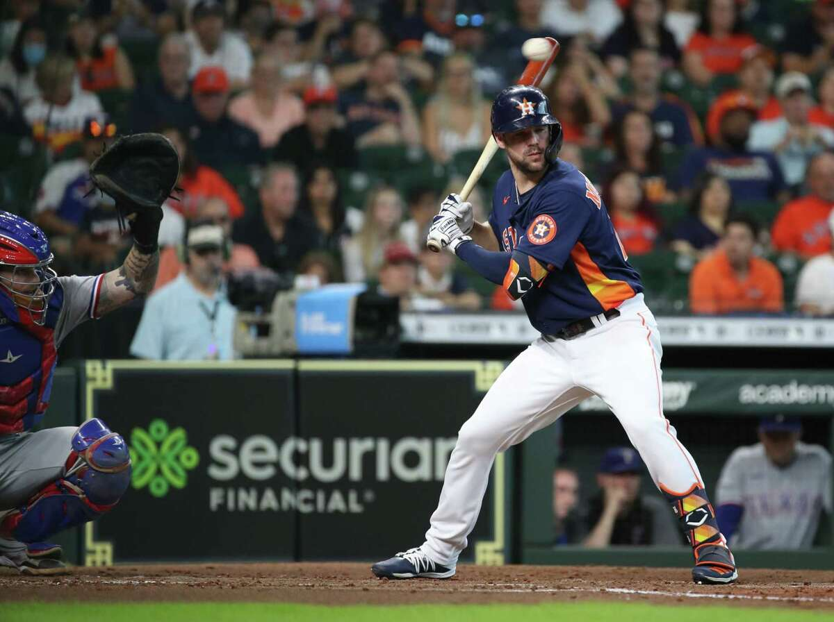A left hand injury kept Chas McCormick out of the Astros' lineup for a second straight game Sunday.