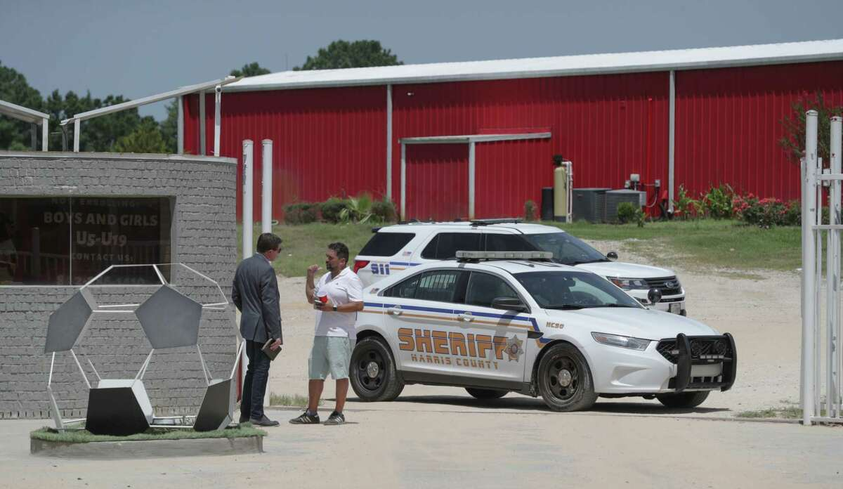 Two people, including a pregnant woman, were fatally shot at a soccer park, 4255 Clow Road, in northwest Harris County Sunday, July 25, 2021, in Houston.