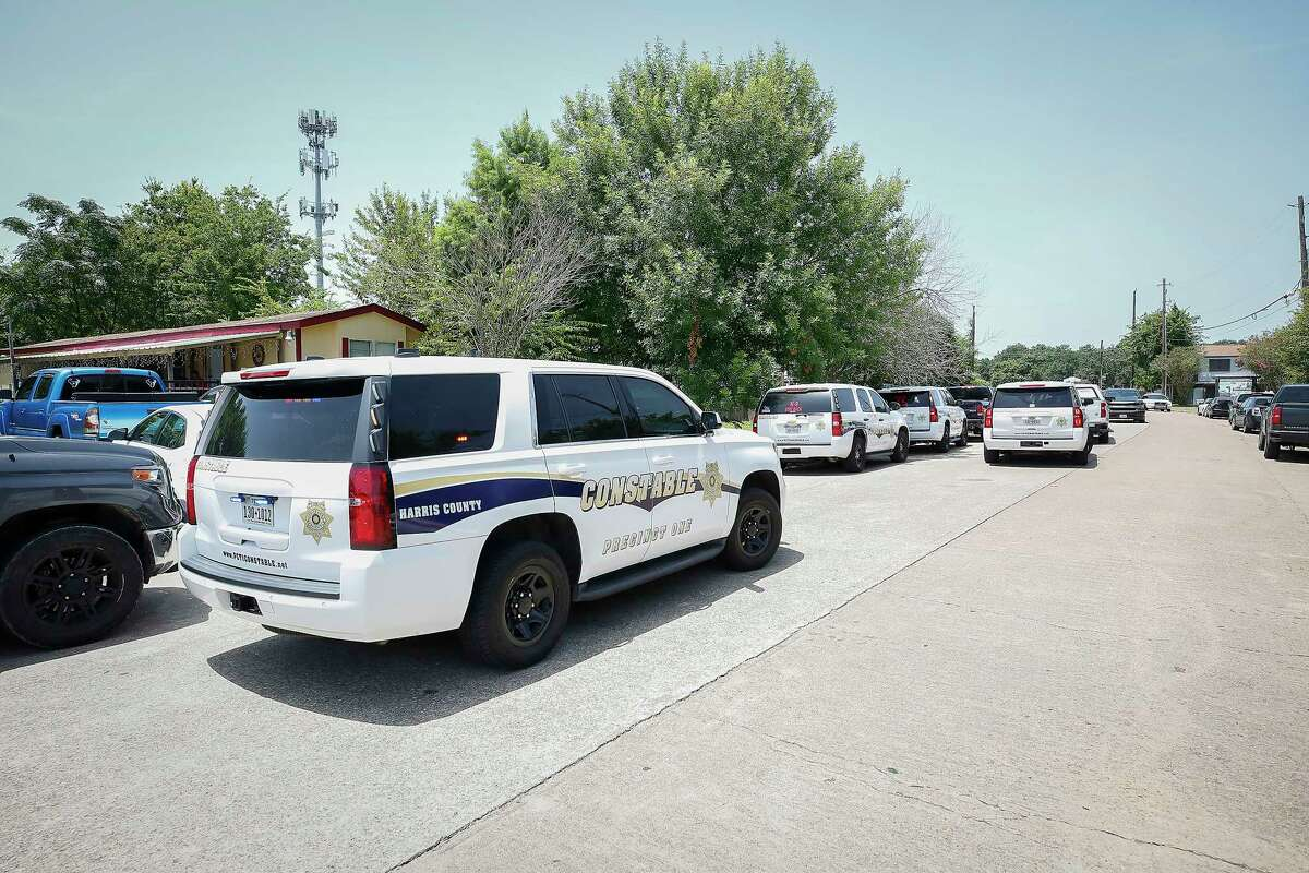 The suspected gunman was found later, in an apparent death by suicide in the 7700 block of Bayou Forest Drive after two people, including a pregnant woman, were fatally shot at a soccer park, 4255 Clow Road, July 25, 2021, in Houston.