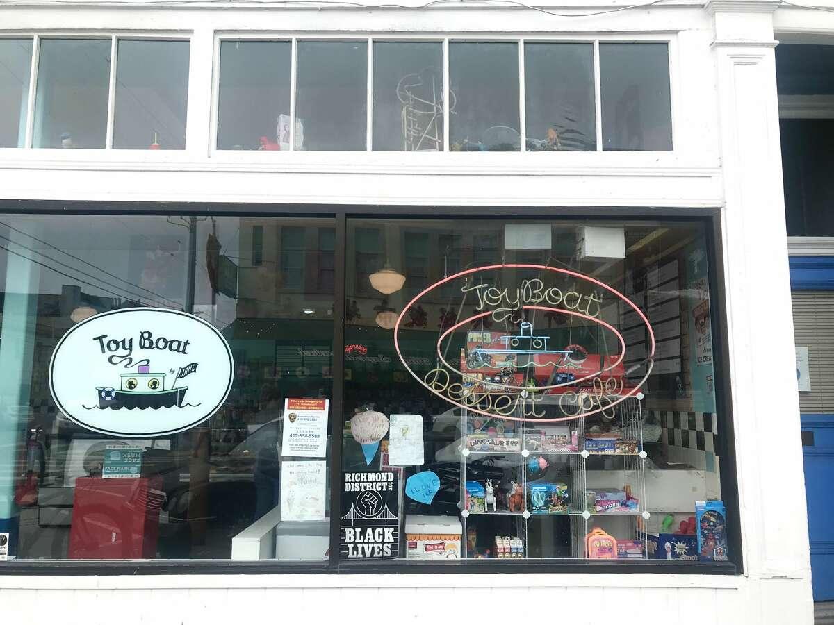 Toy Boat café was burglarized on Wednesday morning.