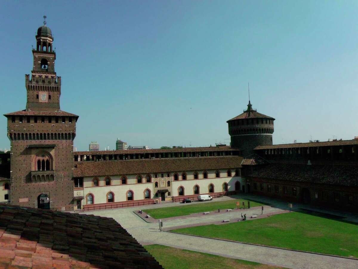 Sforza Castlewas built in the 1300s as a fortress guarding the gates to the city of Milan. (Courtesy photo)