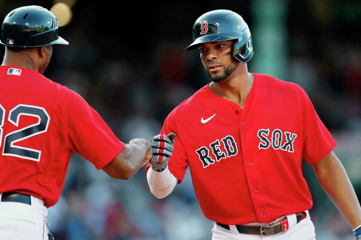 Xander Bogaerts and the Red Sox host the Blue Jays at 4 p.m. Monday (ESPN).
