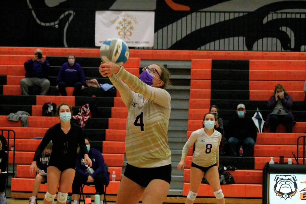 Frankfort's volleyball team annually places a major focus on academics. (Record Patriot file photo)