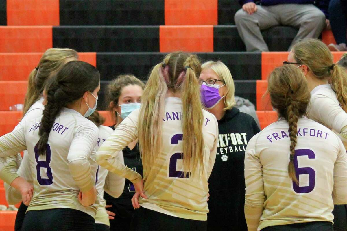 Frankfort finished with a volleyball team GPA of 3.702 for the 2020-21 school year. (Record Patriot file photo)