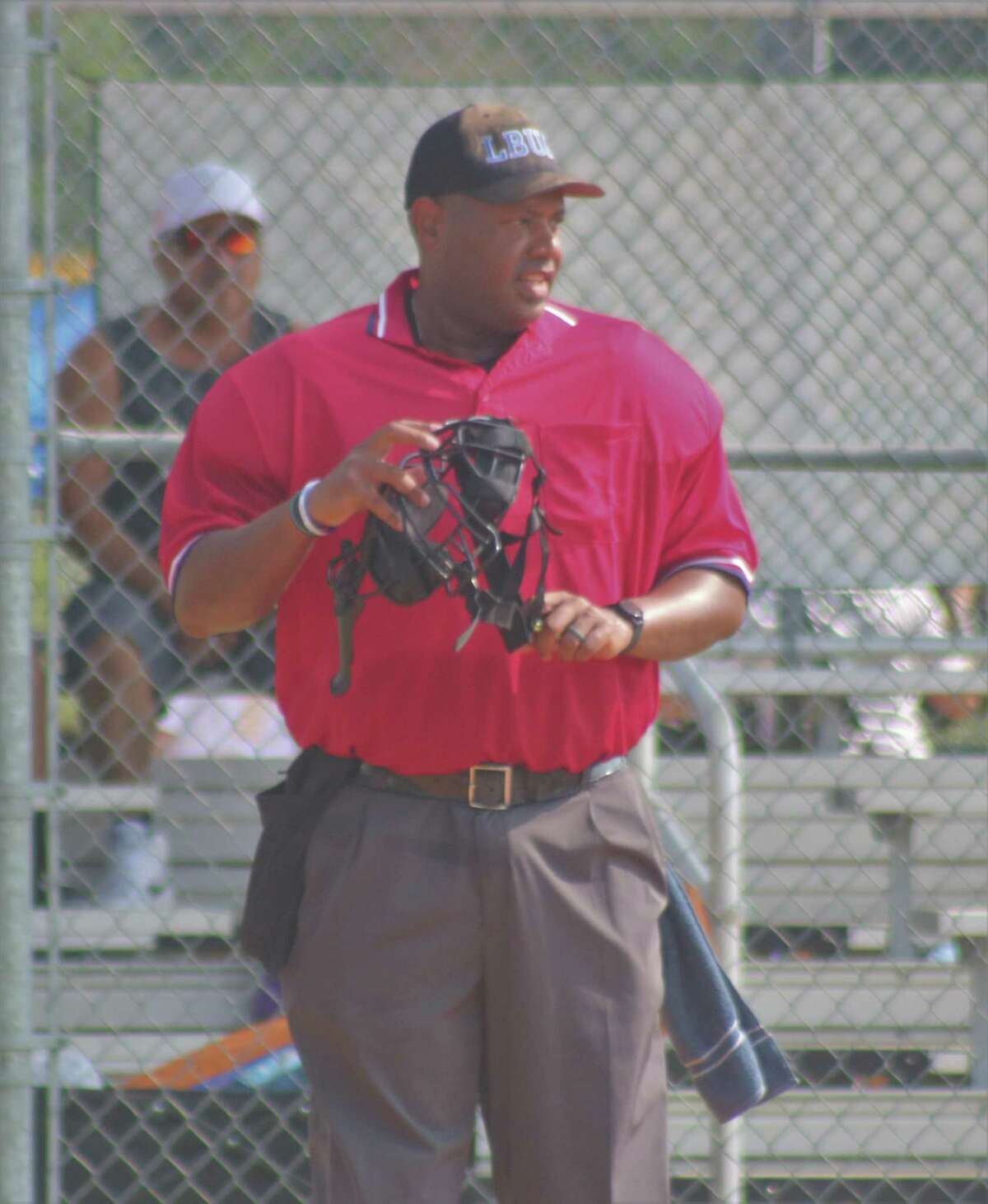 Umpire Donald Harper says he is ecstatic to be working his first World Series later this week when Pony Baseball holds its Mustang competition.