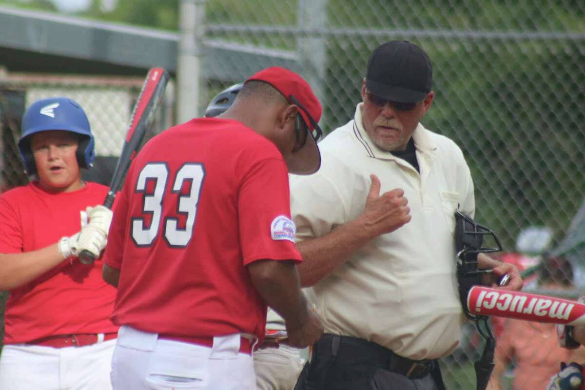 Umpire Robert Nolen has probably held conversations with hundreds of coaches over his 15-year career as an ump, most of them courteous, respectful conversations.