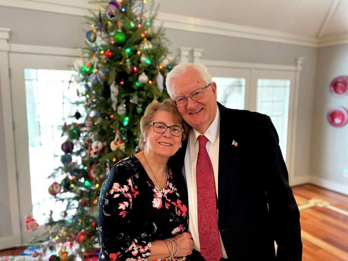 Wilfred Swiecki is shown with his wife, JosieSwiecki. (Courtesy Photo)