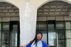 Myanoe Aung at her High School Graduation