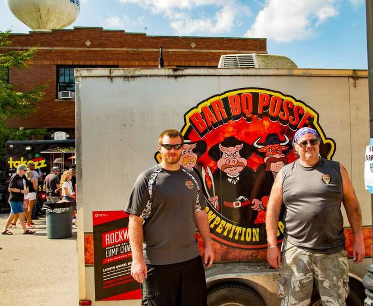 Smokin' on Main draws barbecue lovers to downtown Collinsville to eat and compete for the best-tasting barbecue.