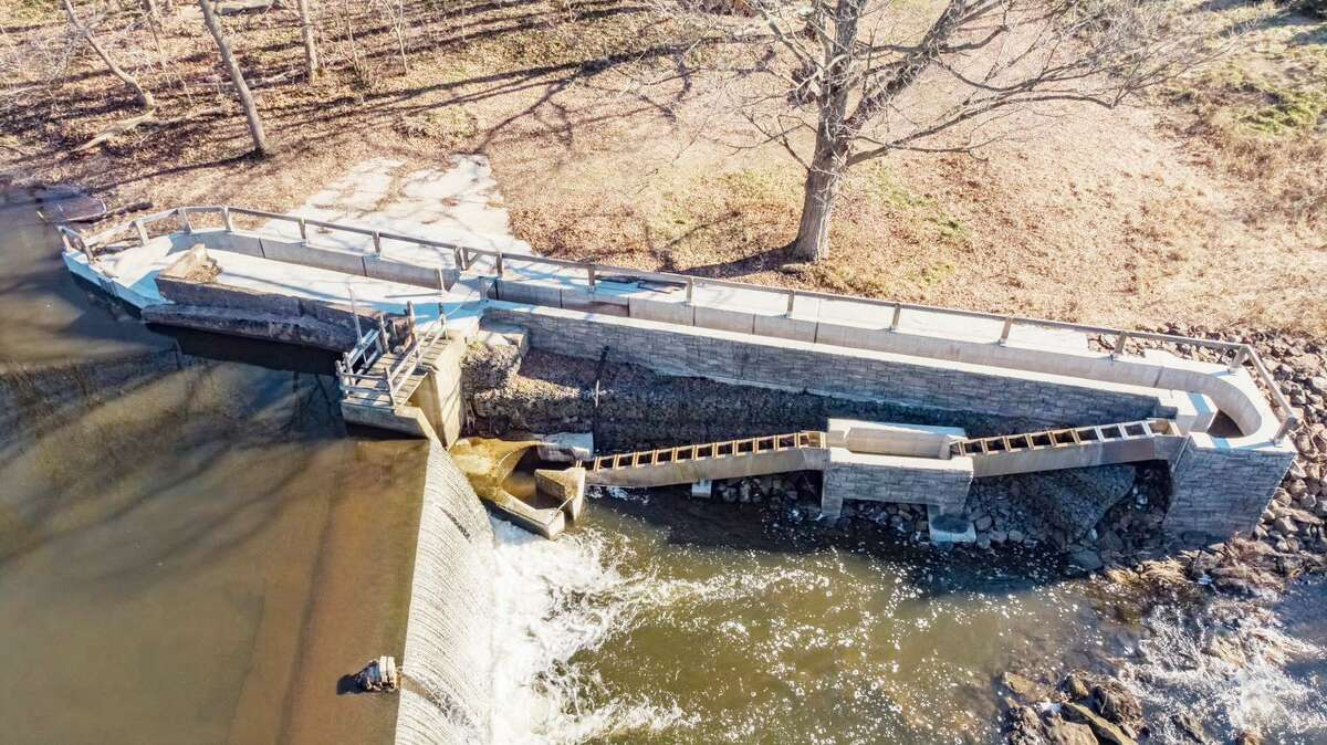 Nathan L. Jacobson & Associates' design of the Pages Mill Pond Dam Fishway in North Branford was one of only 36 projects selected from across the country for the engineering award.