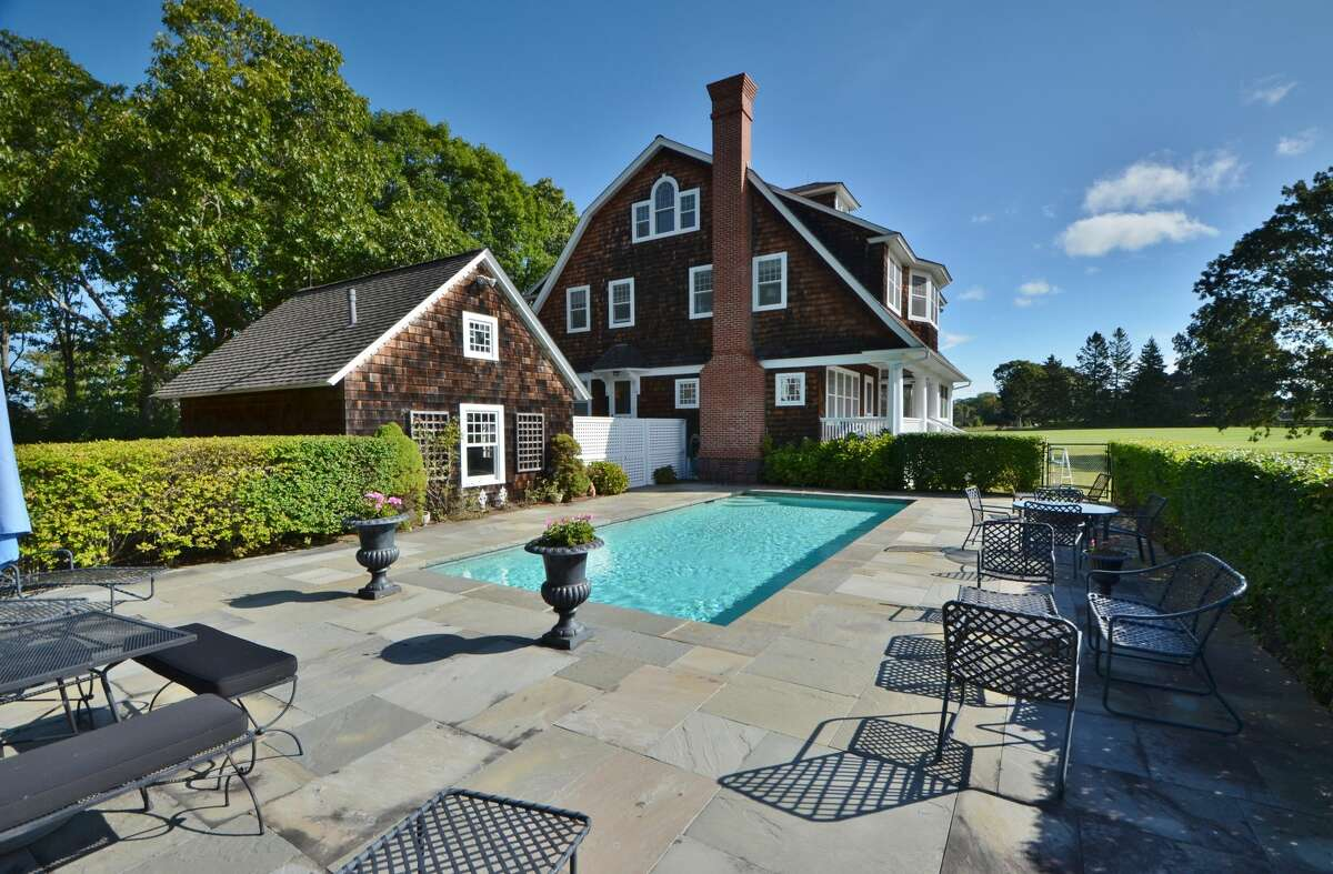 The house at 549 Maple Ave. in Old Saybrook is on the market for $3,575,000.