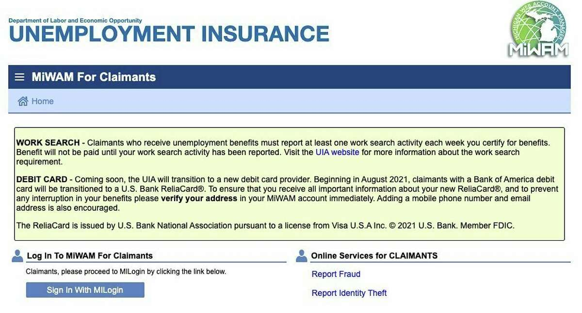 For any questions about you unemployment claims, visit the Unemployment Insurance Agency website at www.michigan.gov/leo.