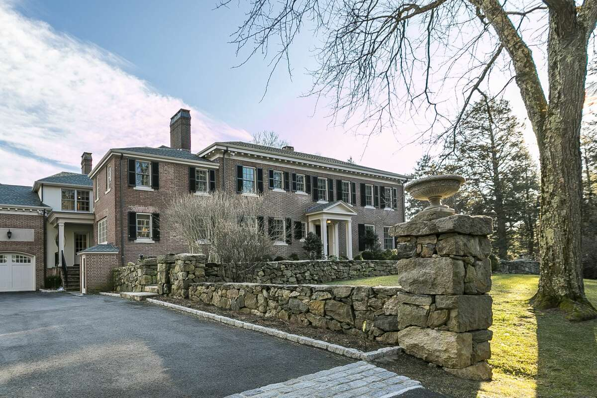 The home on 17 Rippowam Road in Ridgefield, Conn. once beloned to Consuelo Vanderbilt, the great great-grandaughter of shipping tycoon Cornelius Vanderbilt.