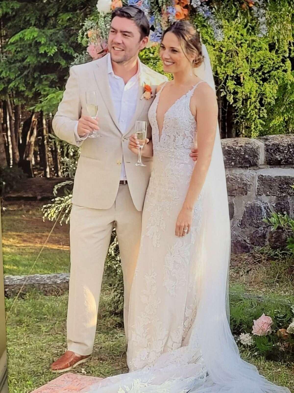 "Mr. and Mrs. John ""Jack"" Clark Liakas."