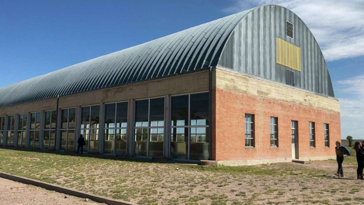 A file photo of The Chinati Foundation art museum at One Calvary Row in Marfa. Jacy Lewis/Reporter-Telegram