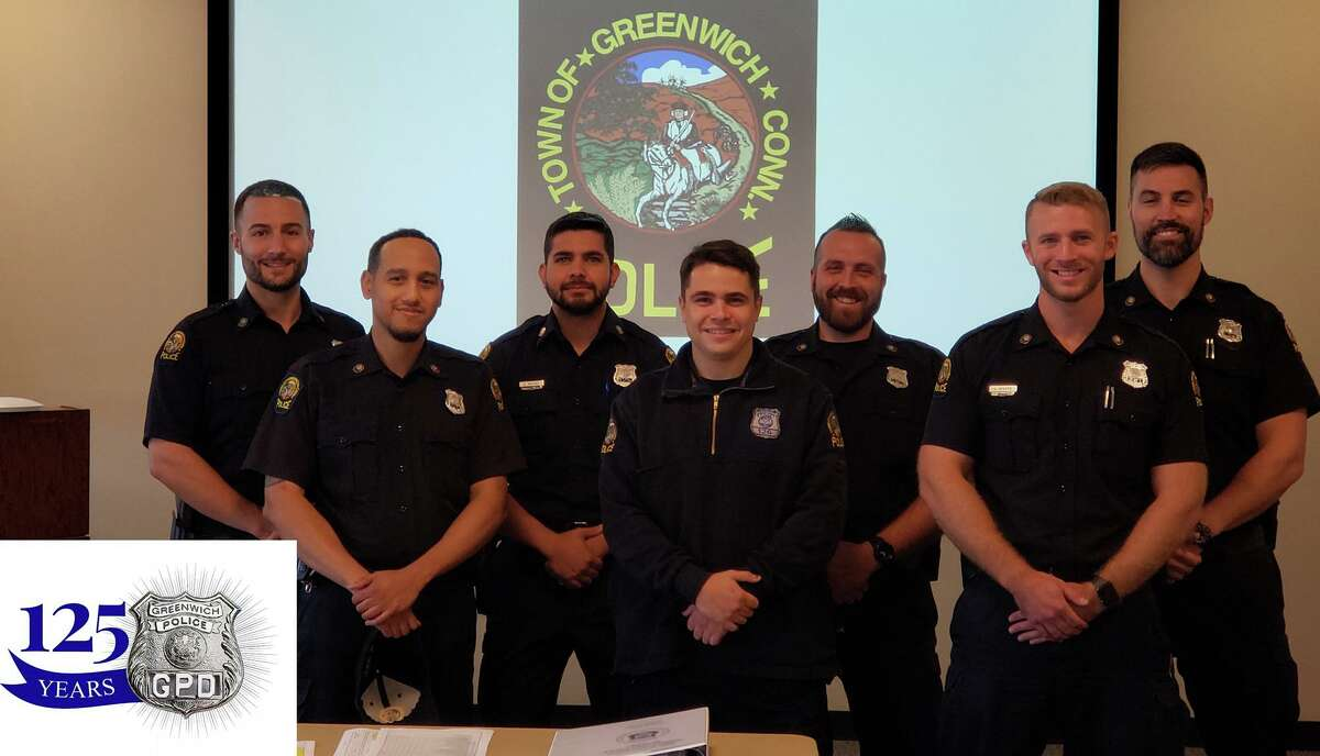 The training unit of the Greenwich Police Department has a few new members.