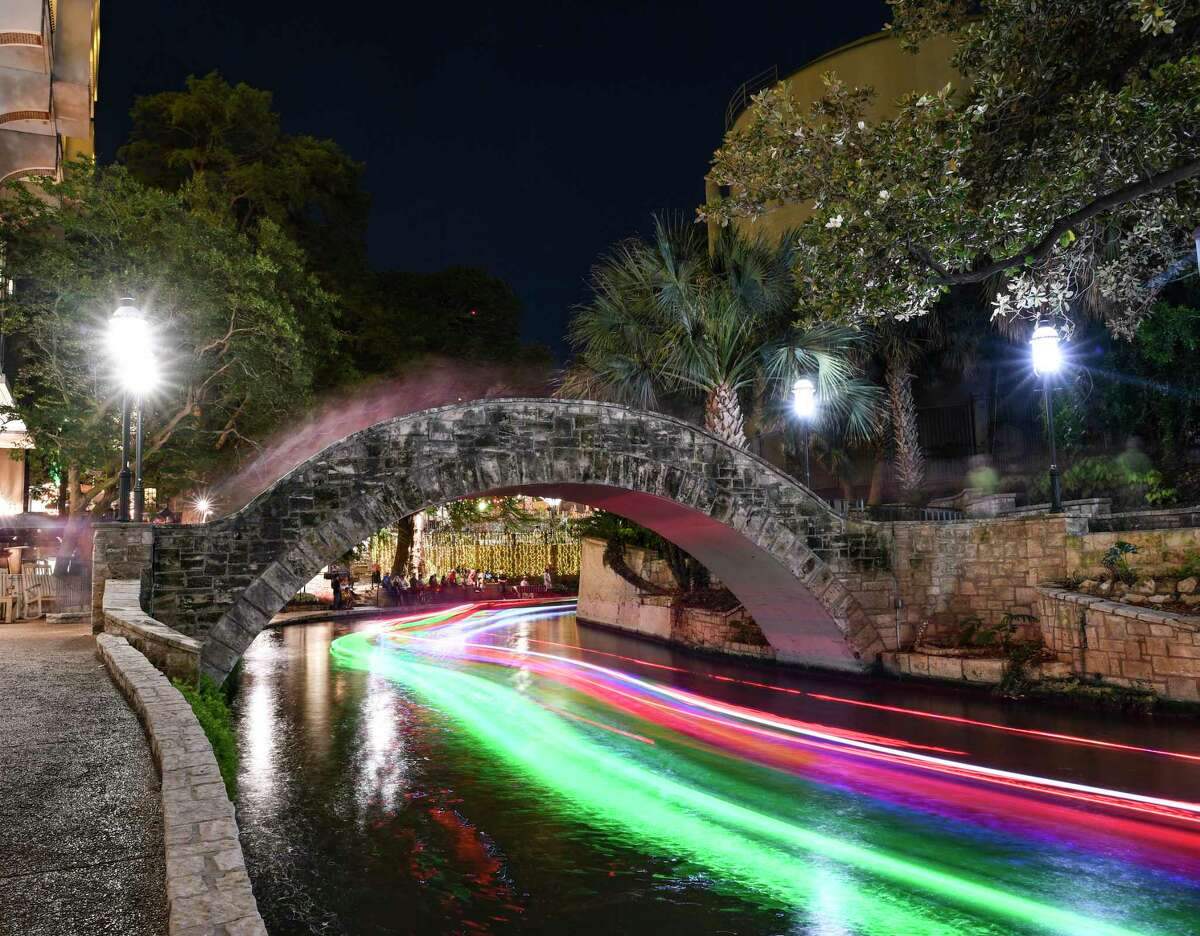 San Antonio's River Walk is a top tourist attraction in Texas.