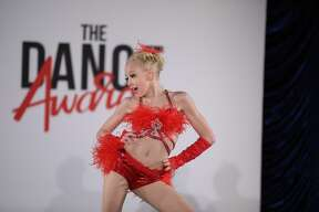 Manistee's Daniella Lampen dances at the Dance Awards in Las Vegas. The national competition spanned from June 26 to July 3 and featured hundreds of dancers from around the world.