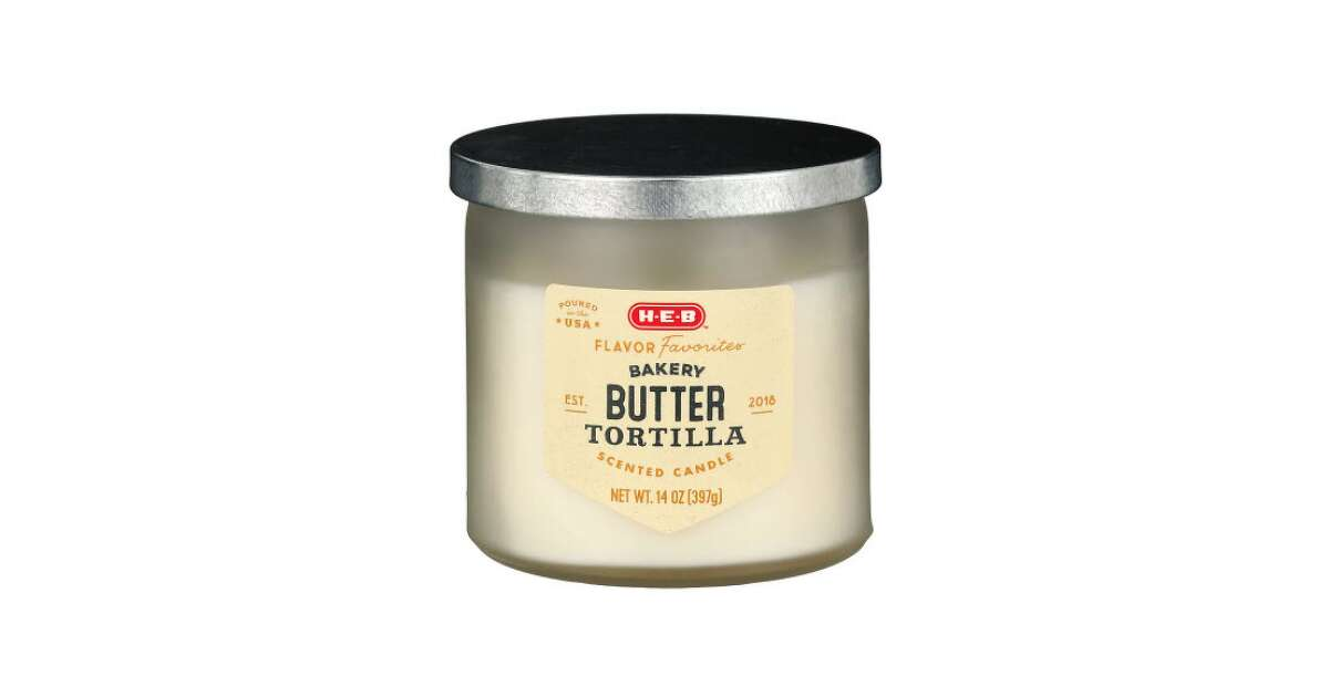 If you love H-E-B butter tortillas, now there's a candle for it.
