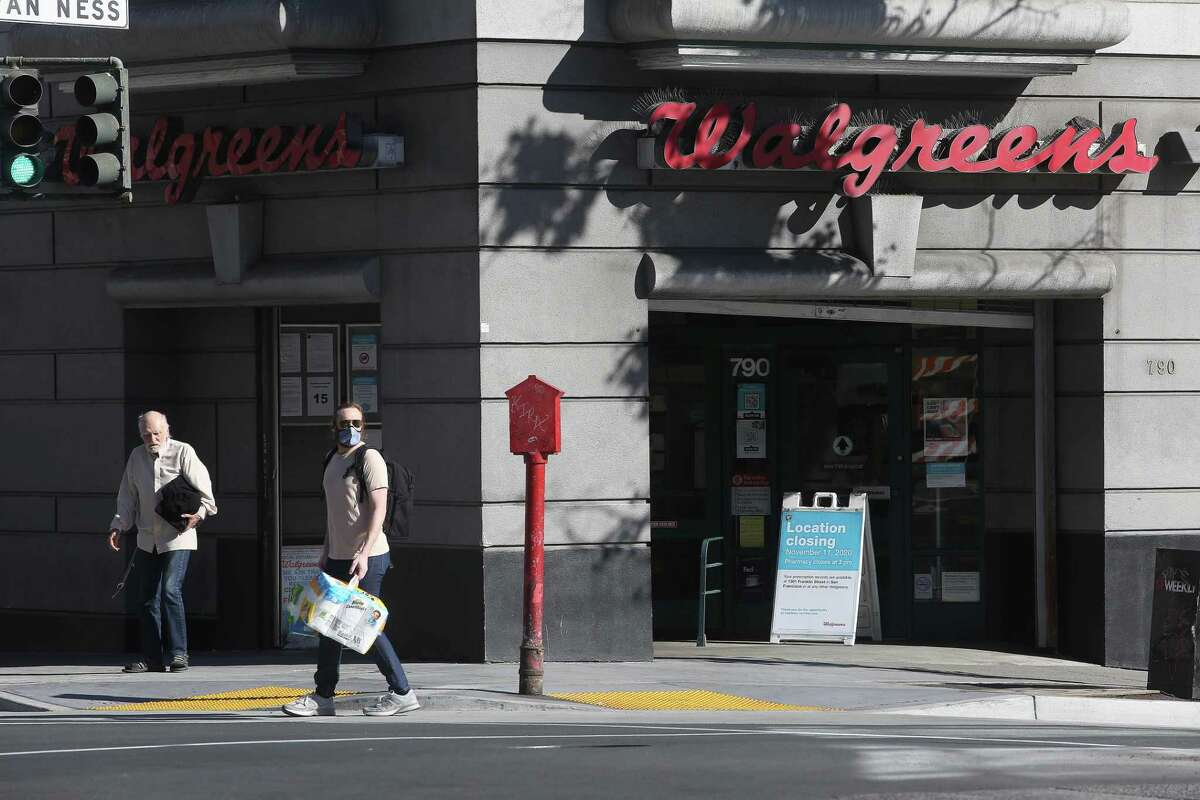 Walgreens has closed 17 stores in San Francisco during the last few years due to shoplifting, the company says.