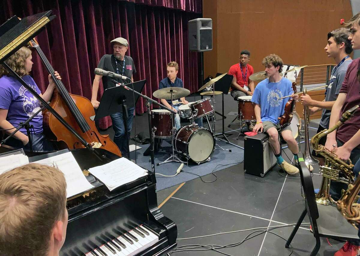 Campers at Litchfield Jazz Camp