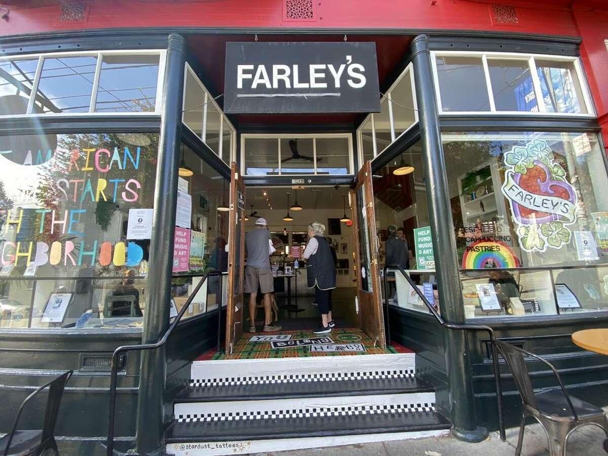 The exterior of Farley's in the Potrero Hill neighborhood of San Francisco.