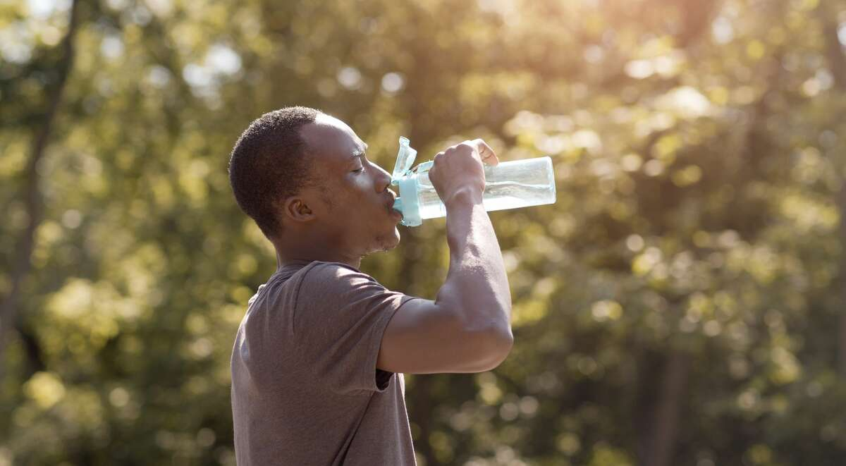 The Illinois Department of Public Health recommends limiting outdoor activities during the hottest parts of the day this week and staying well-hydrated as temperatures climb and heat indices reach 103 degrees and above for much of the region.