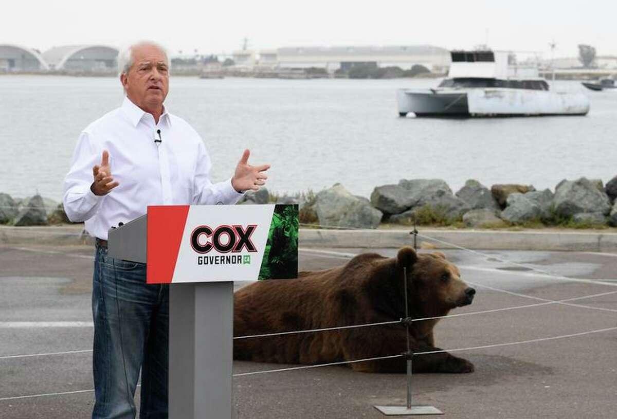 California gubernatorial candidate John Cox is among the more than three dozen candidates.