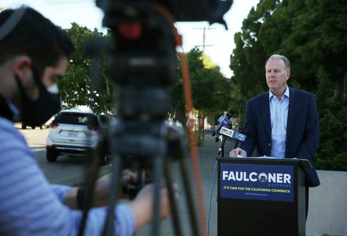 GOP gubernatorial candidate Kevin Faulconer looks to earn the party's endorsement.