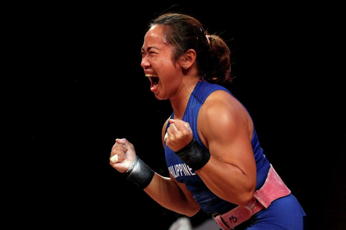 Hidilyn Diaz of the Philippines won gold in her fourth trip to the Olympics.