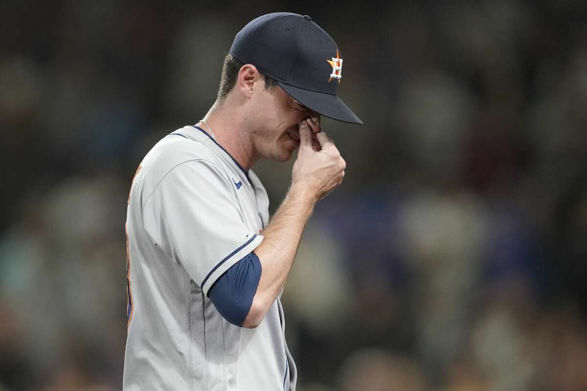 It was a forgettable return to the mound for Astros reliever Brooks Raley, who gave up the go-ahead grand slam during the eighth inning of Monday's stunning loss in Seattle.