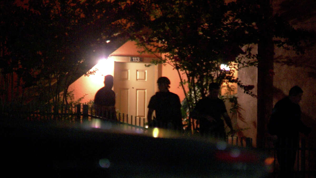 A standoff with police Monday night ended in one woman dead and a man shot by officers.