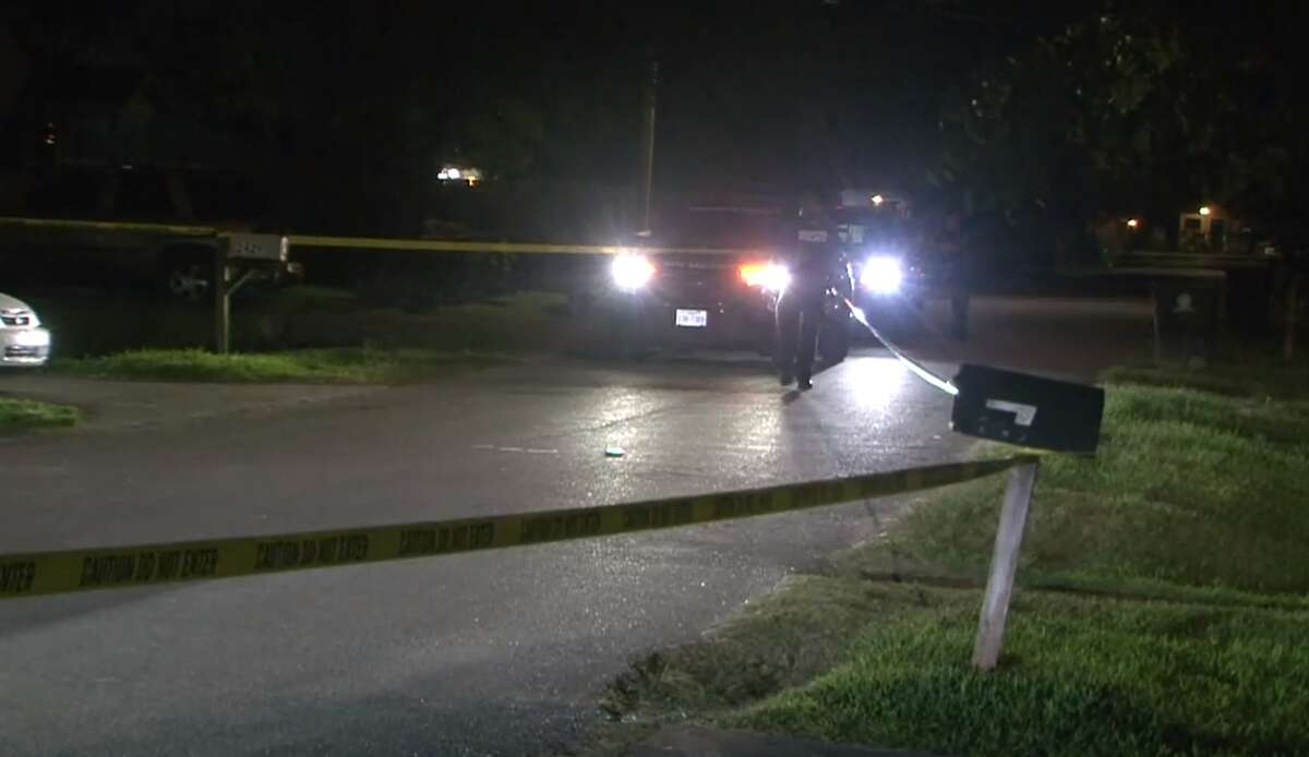 Police investigate the shooting death of a man on July 27, 2021, in the 2400 block of Carmel Road.