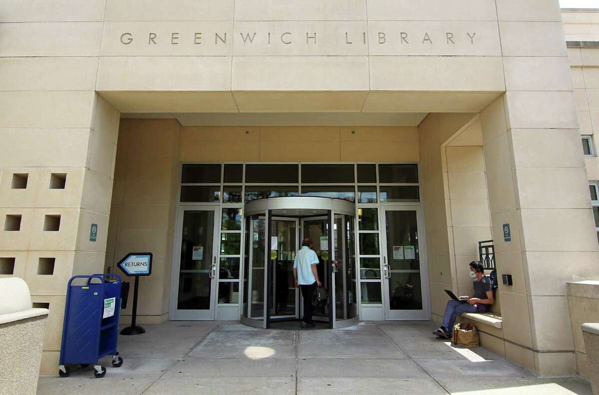 The Greenwich Library on Thursday June 10, 2021. It is available for use as a cooling center, along with the other libraries in town.