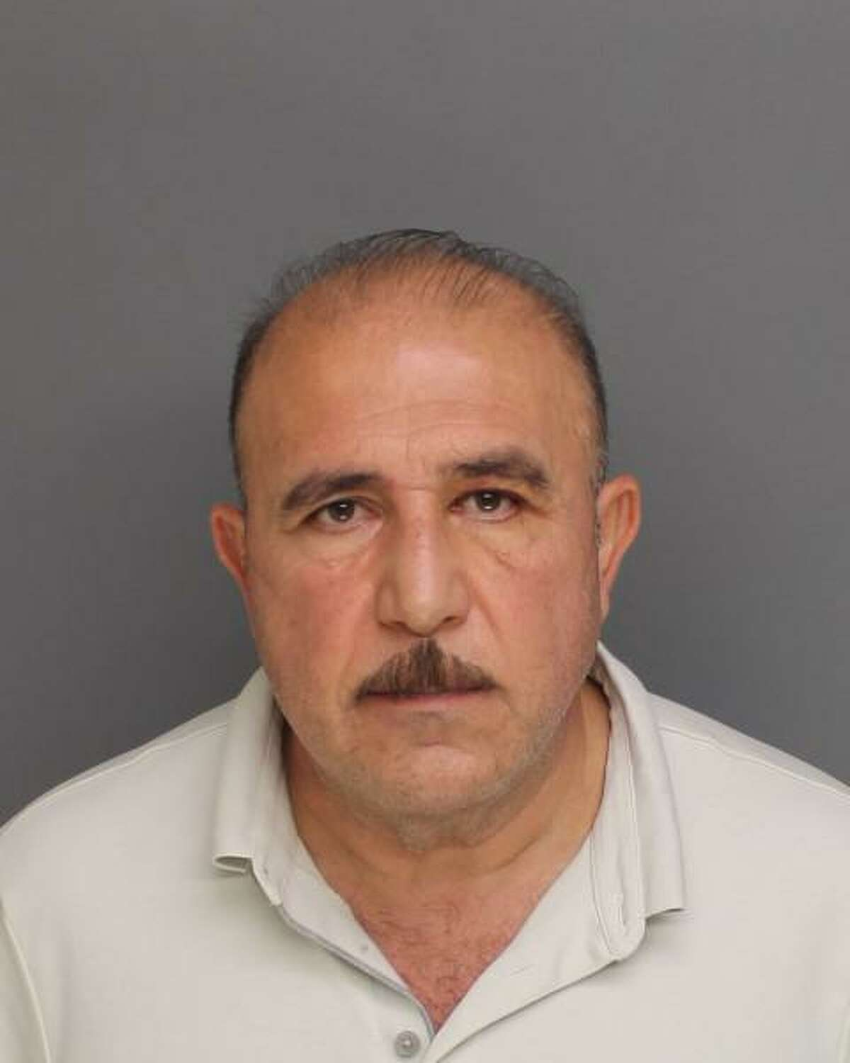 Hennawi Salem was taken in to custody at Salem Furniture, 120 Porter St. in Bridgeport, Conn., on Monday, July 26, 2021, on a warrant charging him with third-degree sexual assault, fourth-degree sexual assault and two counts of disorderly conduct. His bond was set at $100,000.