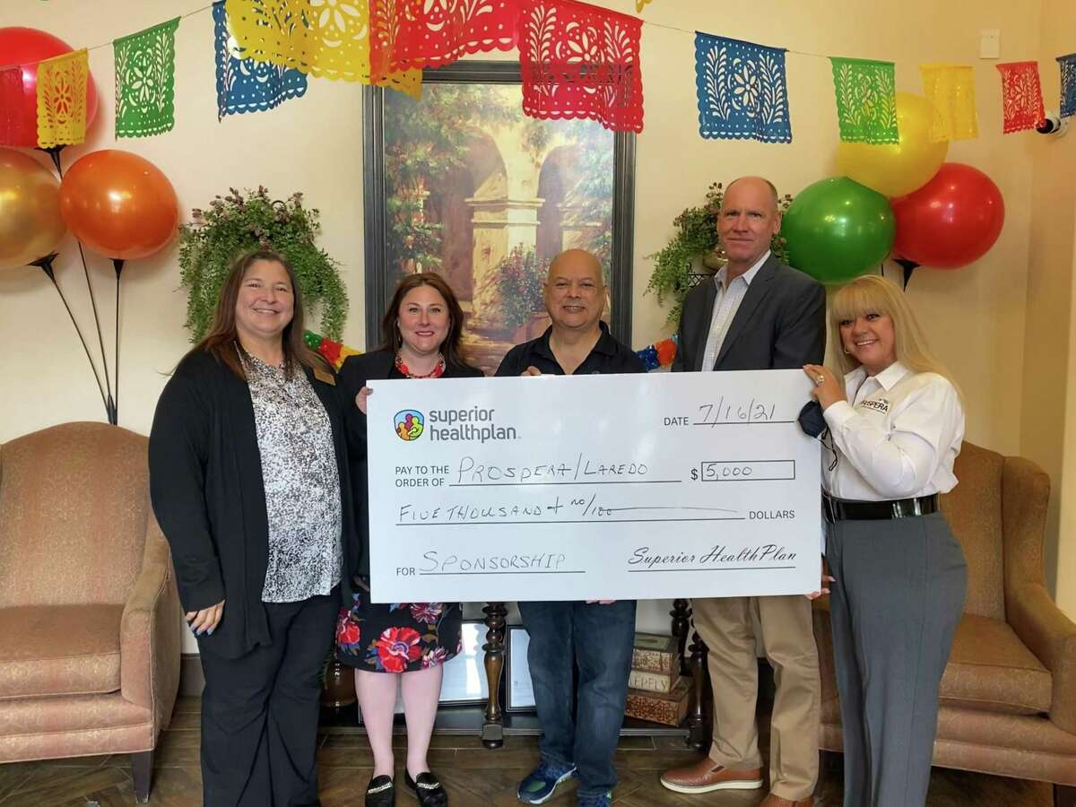 Laredo Manor Apartments - a Prospera Housing Community Services affordable housing community - received a donation from Superior HealthPlan for an on-site food pantry for low-income individuals and families beginning August 2021.