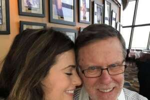 Alexis Del Cid and her father.