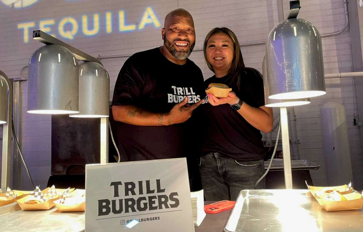 Bun B and Sticky's Chicken co-founder Patsy Vivares are partners in a new smashburger concept, Trill Burgers, launching in Houston in August.