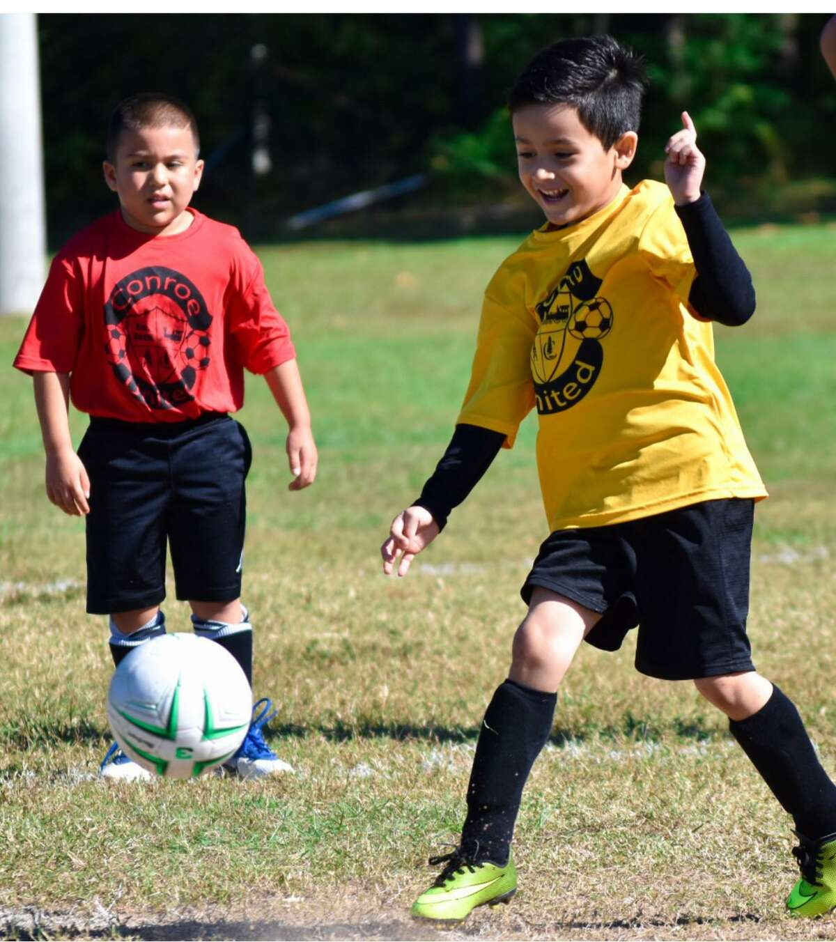 Register for Conroe United's Fall Soccer Season for boys and girls ages 4-13 is now taking place through Aug. 6.