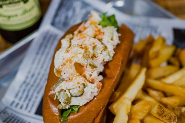Lobster Roll from The Market in Edmonds, Wash.