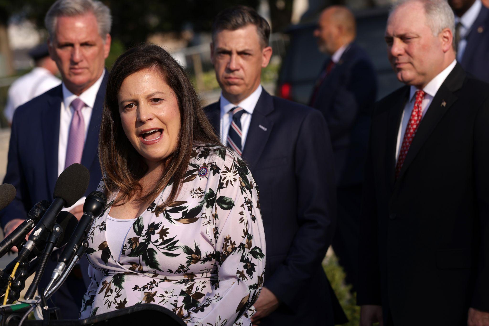 Rep. Elise Stefanik blames House Speaker Pelosi for Jan. 6 insurrection