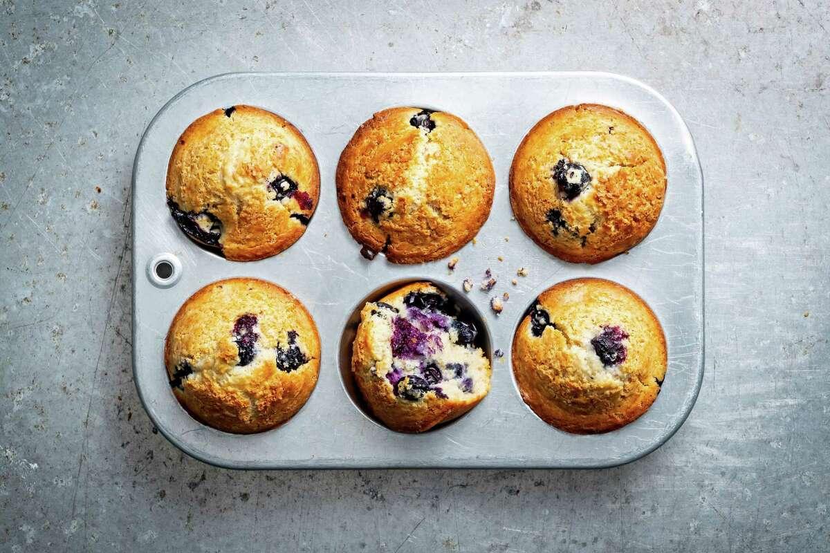 3-Ingredient Blueberry Muffins.