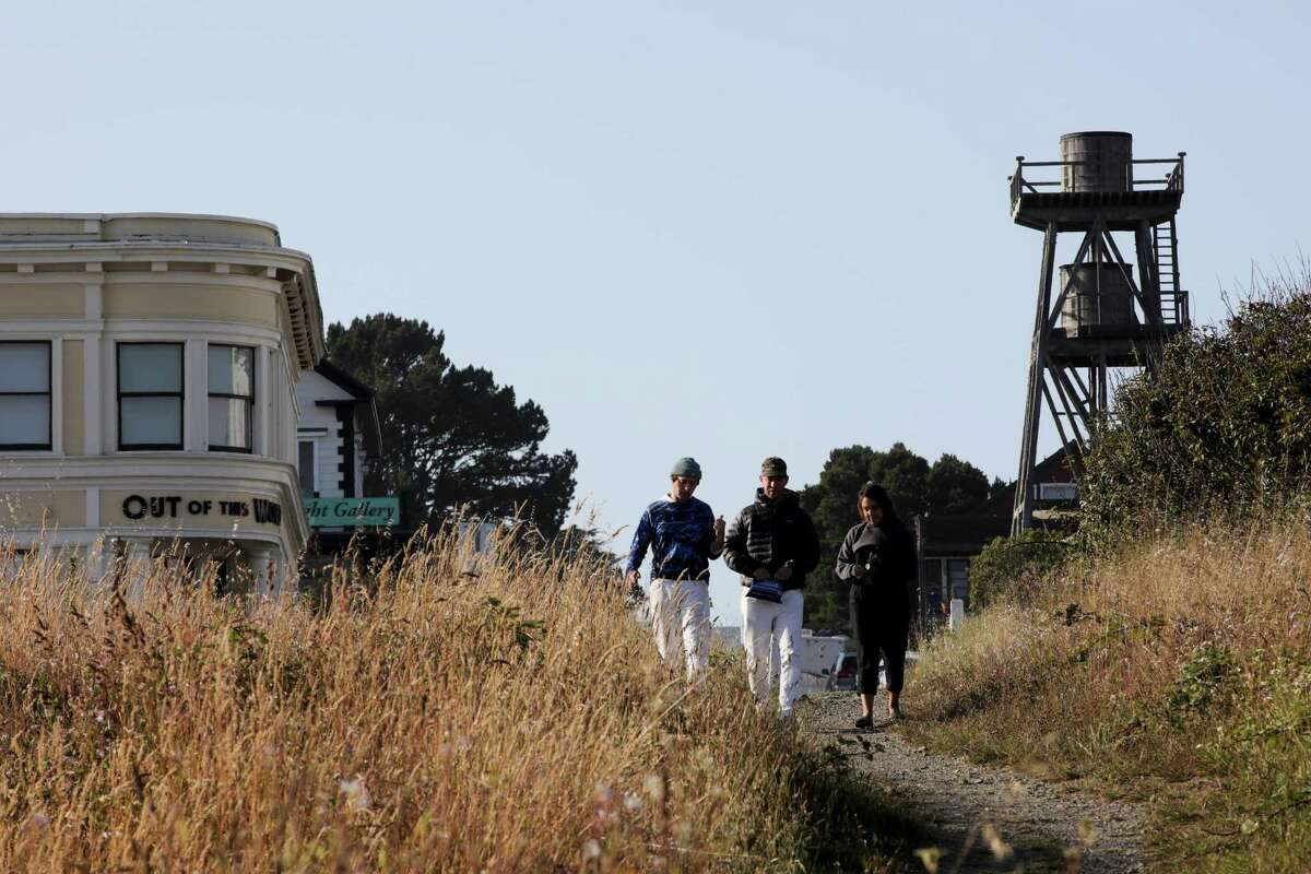 Mendocino is running low on water because its wells are going dry.