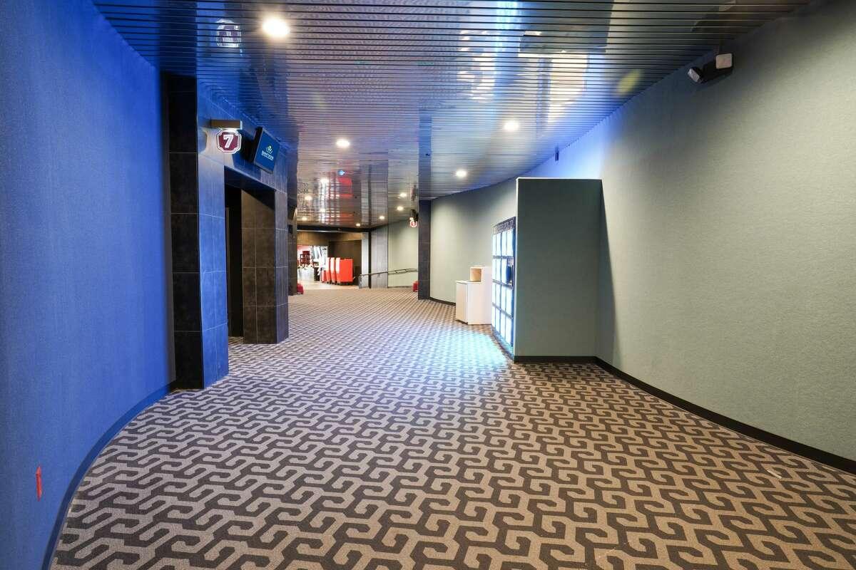San Antonio-based Santikos Entertainment has taken over and transformed the previous Alamo Drafthouse theater in New Braunfels.