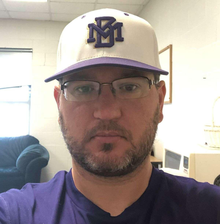 Montgomery baseball coach Michael Starkey.